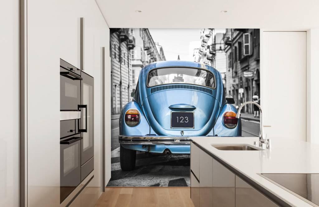 Verkehrsmittel tapete - Käfer in der Straße - Jugendzimmer 8