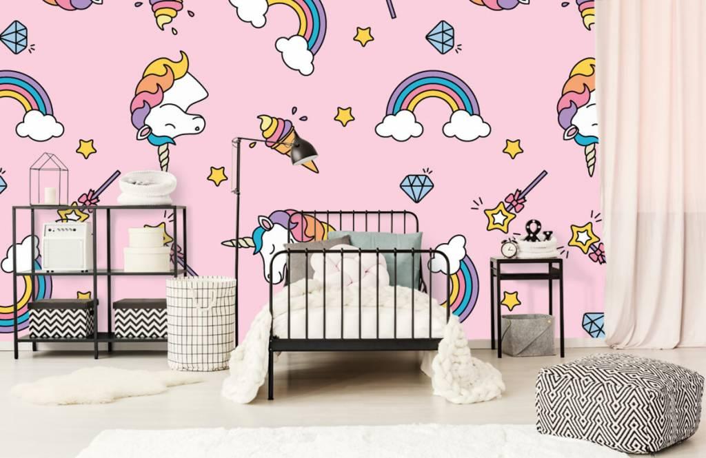 Pferde - Einhörner und Regenbogen - Kinderzimmer 2