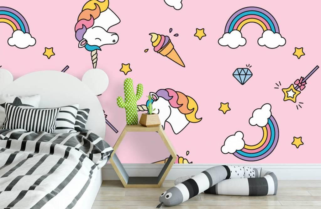Pferde - Einhörner und Regenbogen - Kinderzimmer 3