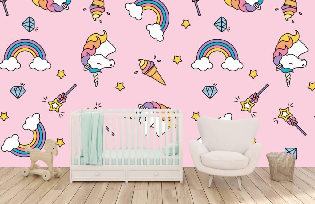 Pferde - Einhörner und Regenbogen - Kinderzimmer 5