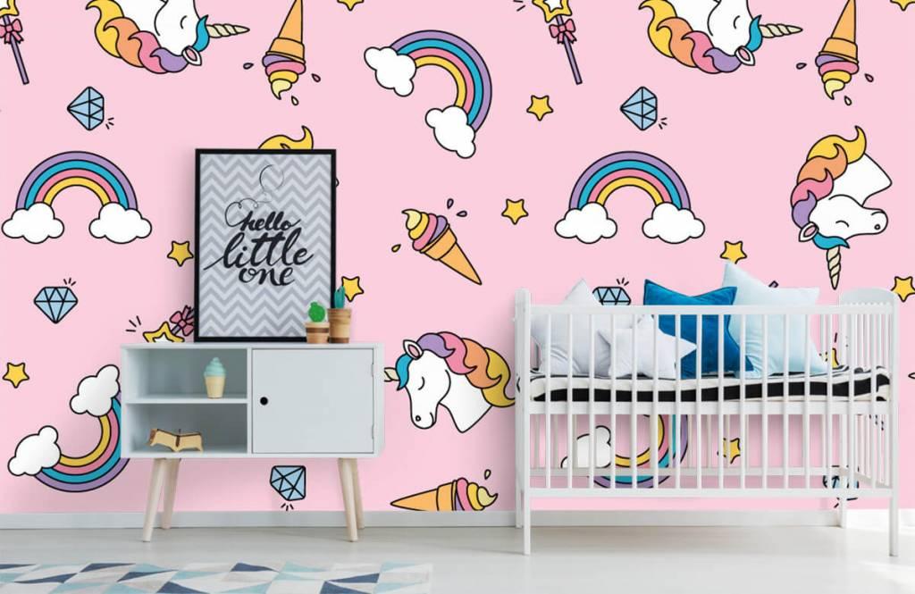 Pferde - Einhörner und Regenbogen - Kinderzimmer 6