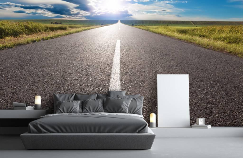 Straßen und Wege - Unendlicher Weg - Schlafzimmer 1