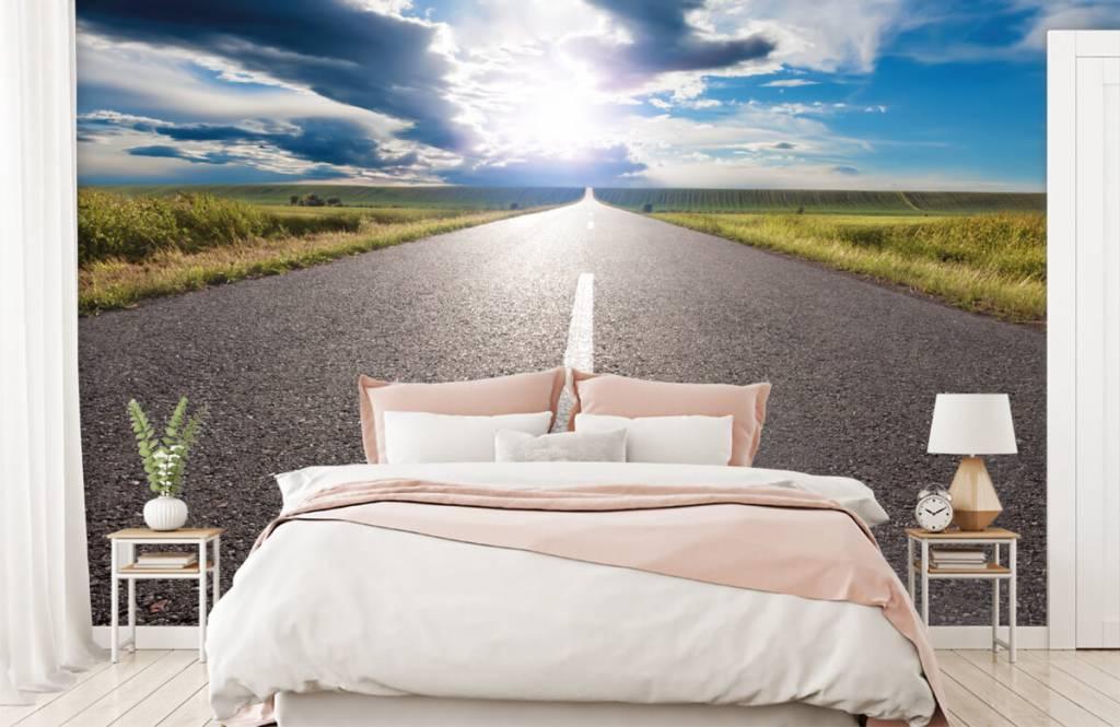 Straßen und Wege - Unendlicher Weg - Schlafzimmer 2