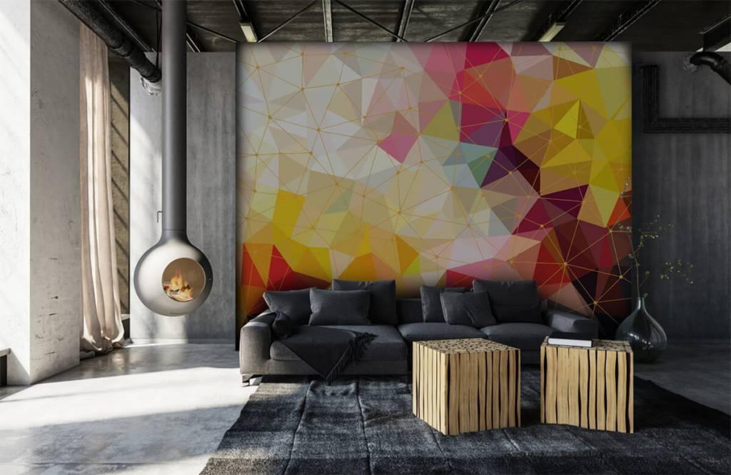 Andere - Bunte Dreiecke - Schlafzimmer 1