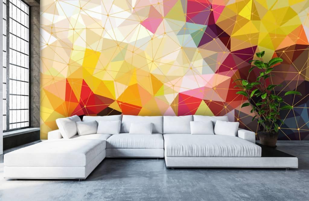 Andere - Bunte Dreiecke - Schlafzimmer 3