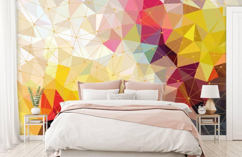 Andere - Bunte Dreiecke - Schlafzimmer 4