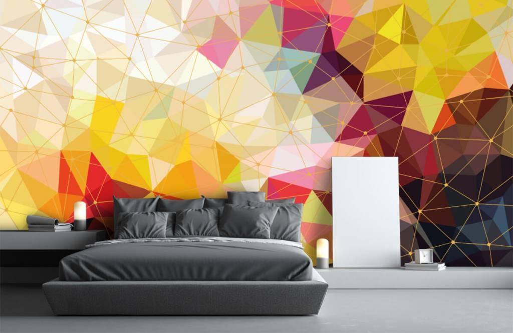 Andere - Bunte Dreiecke - Schlafzimmer 5