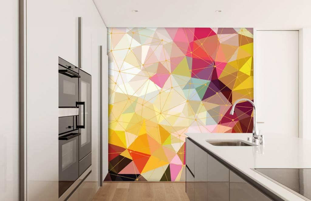 Andere - Bunte Dreiecke - Schlafzimmer 6