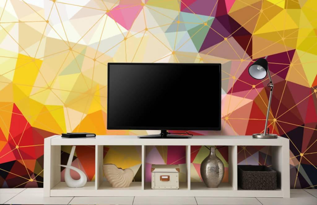 Andere - Bunte Dreiecke - Schlafzimmer 7