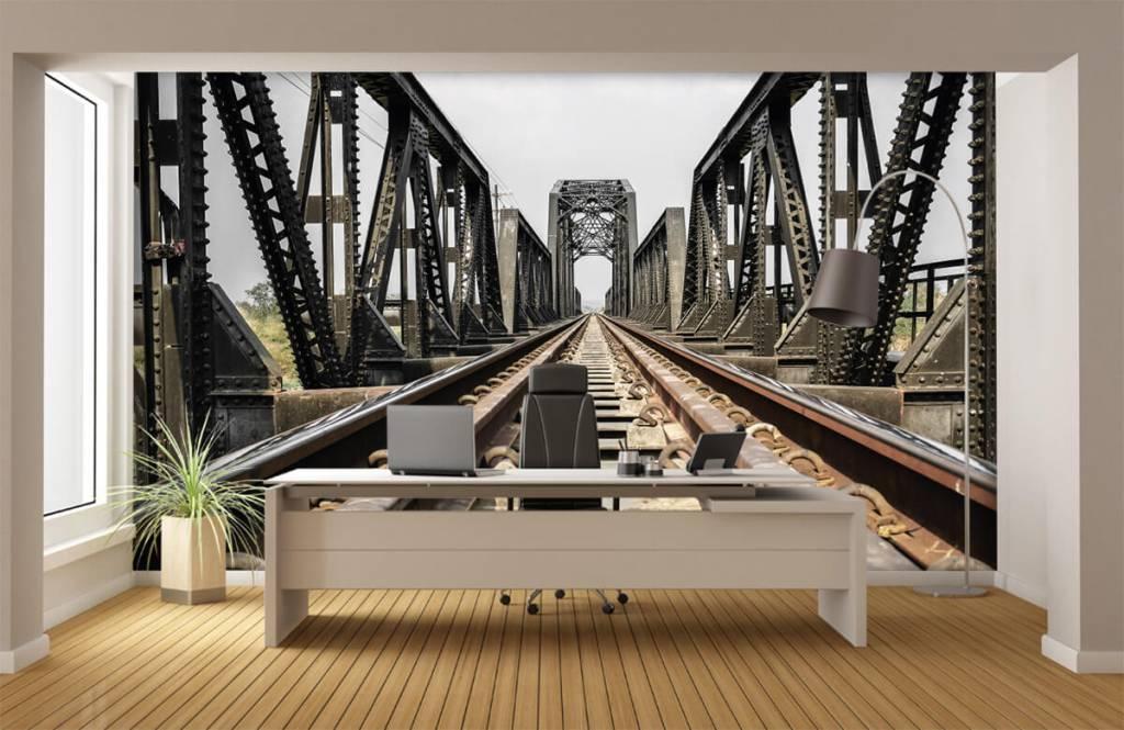 Elemente - Eisenbahnbrücke aus Metall - Garage 4