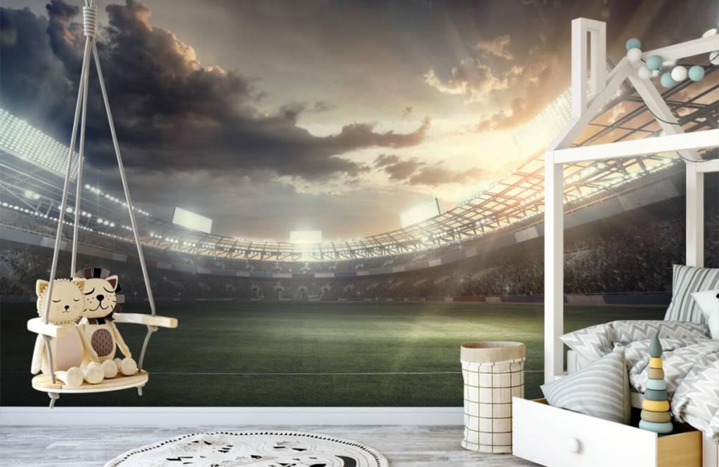 Stadien - Stadion bei Sonnenuntergang - Kinderzimmer 3