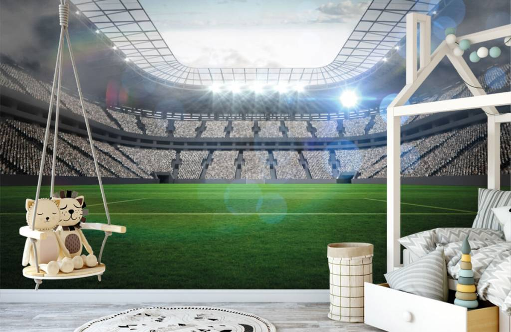 Stadien - Stadion mit offenem Dach - Kinderzimmer 1