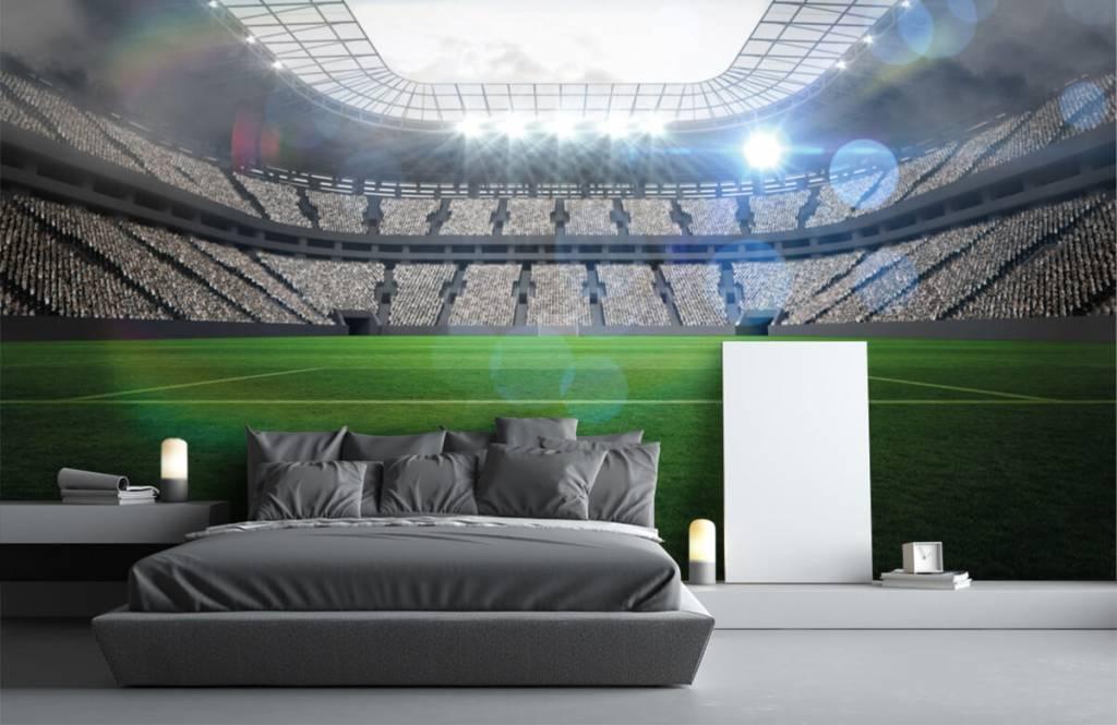 Stadien - Stadion mit offenem Dach - Kinderzimmer 2