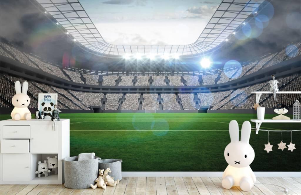 Stadien - Stadion mit offenem Dach - Kinderzimmer 4