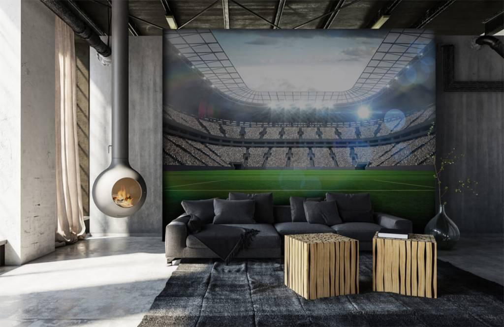 Stadien - Stadion mit offenem Dach - Kinderzimmer 7