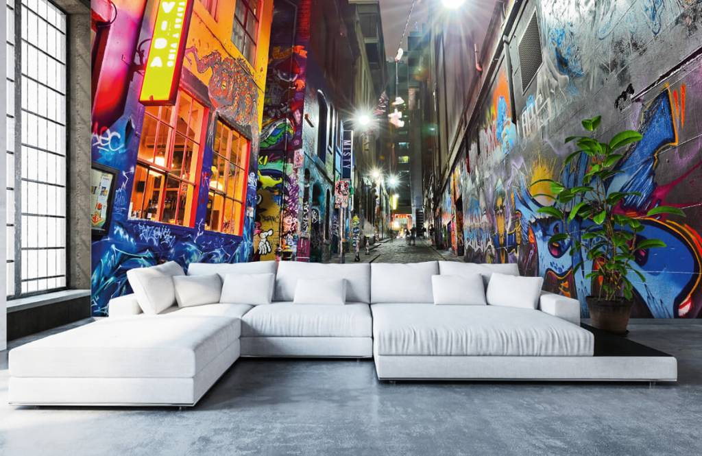Graffiti - Graffiti-Straße - Jugendzimmer 1