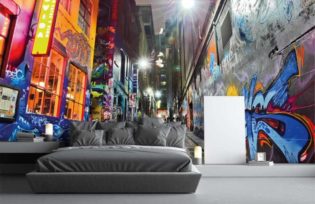 Graffiti - Graffiti-Straße - Jugendzimmer 3