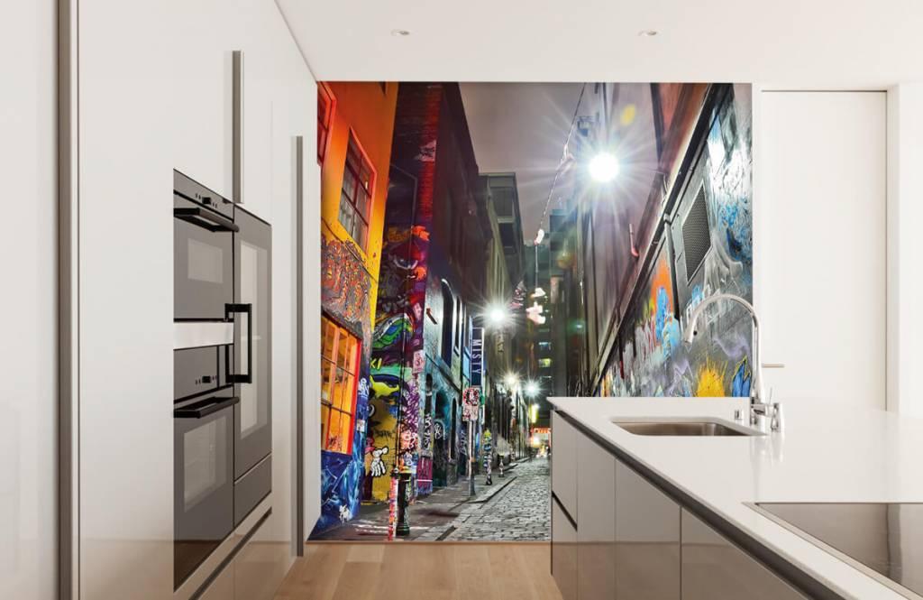 Graffiti - Graffiti-Straße - Jugendzimmer 4