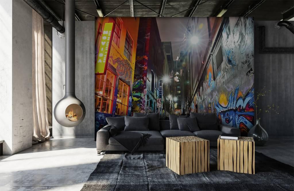 Graffiti - Graffiti-Straße - Jugendzimmer 6