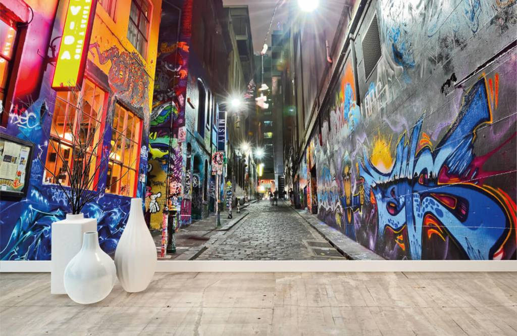 Graffiti - Graffiti-Straße - Jugendzimmer 8
