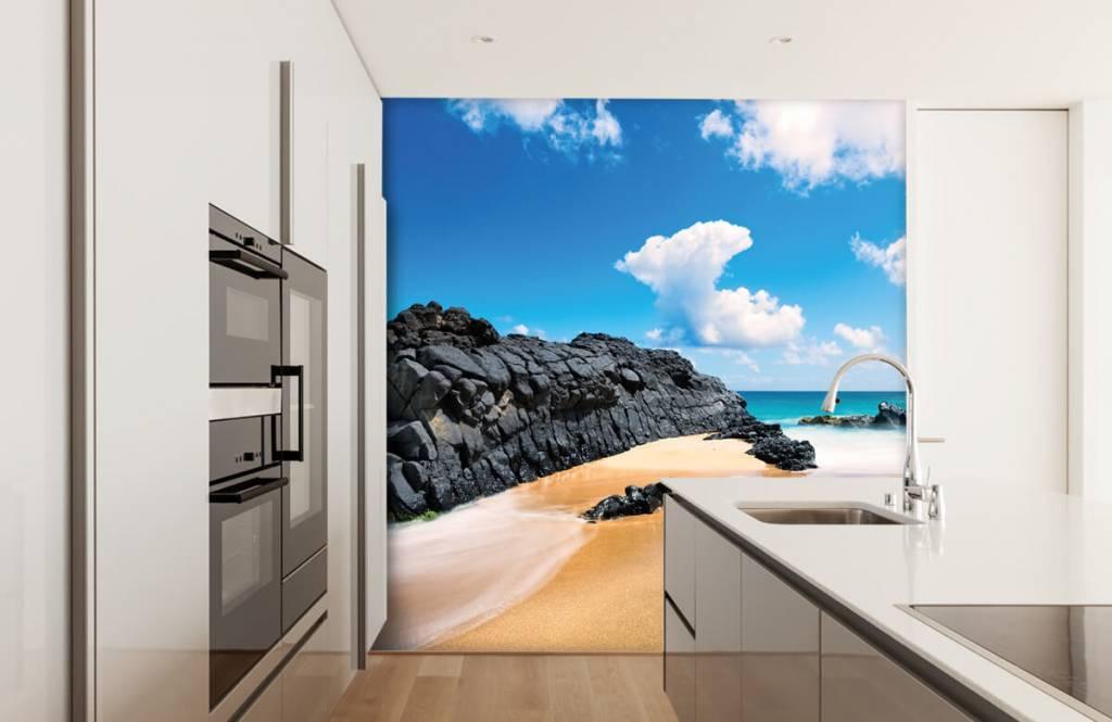 Strand Tapete - Strand auf Hawaii - Wohnzimmer 3