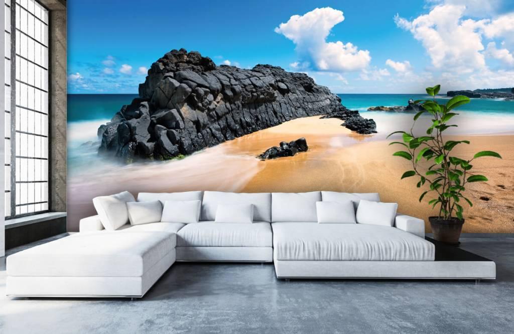 Strand Tapete - Strand auf Hawaii - Wohnzimmer 5