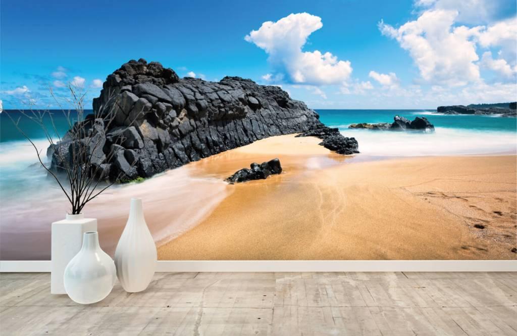 Strand Tapete - Strand auf Hawaii - Wohnzimmer 8