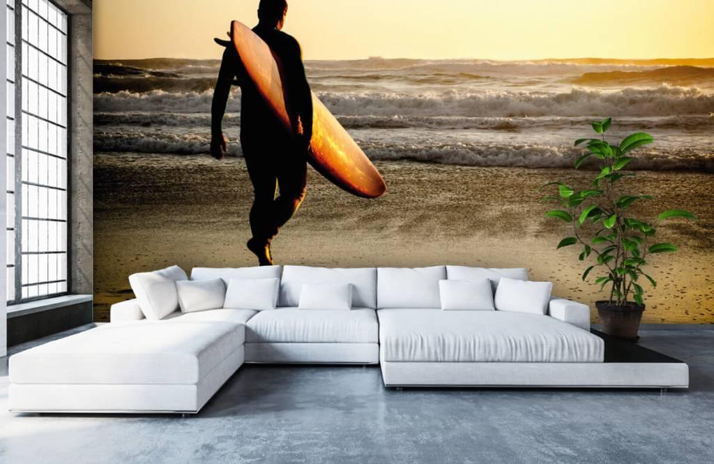 Strand Tapete - Surfer - Jugendzimmer 6