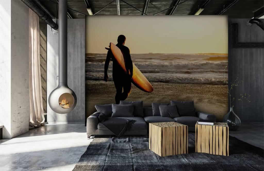 Strand Tapete - Surfer - Jugendzimmer 7