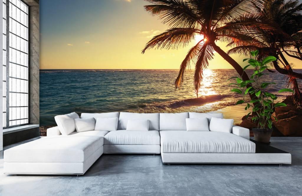 Strand Tapete - Tropischer Strand - Schlafzimmer 1