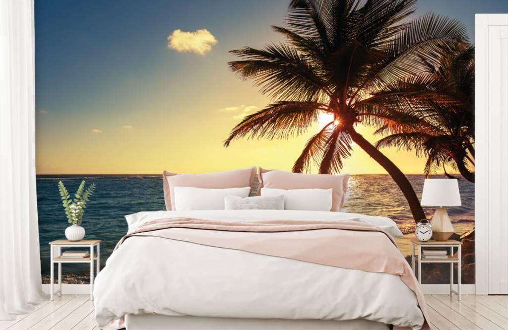 Strand Tapete - Tropischer Strand - Schlafzimmer 2