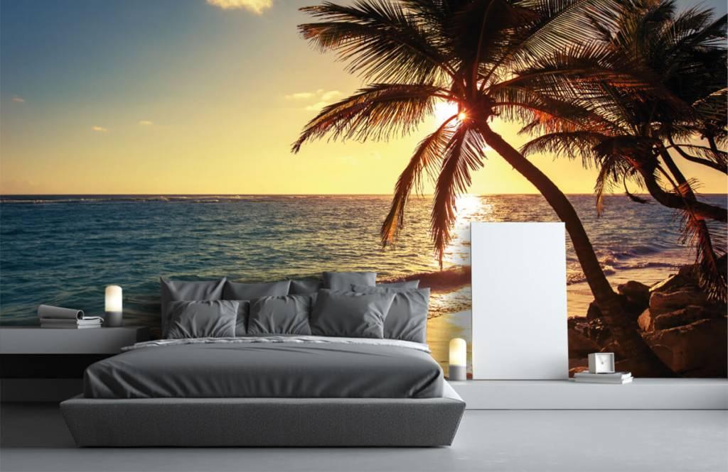Strand Tapete - Tropischer Strand - Schlafzimmer 3