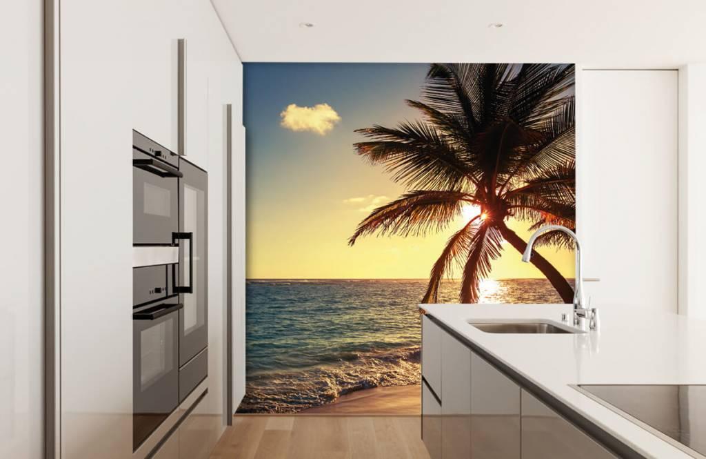 Strand Tapete - Tropischer Strand - Schlafzimmer 4