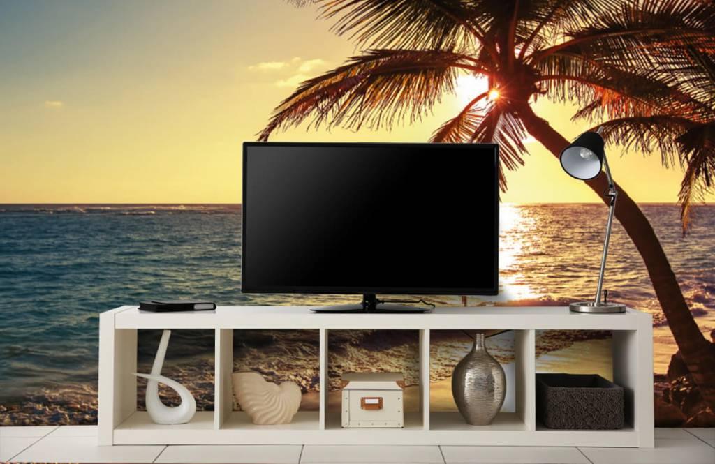 Strand Tapete - Tropischer Strand - Schlafzimmer 5