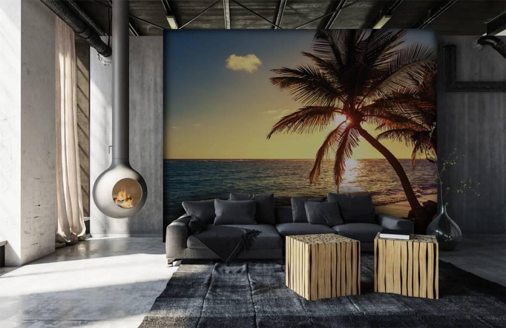 Strand Tapete - Tropischer Strand - Schlafzimmer 6