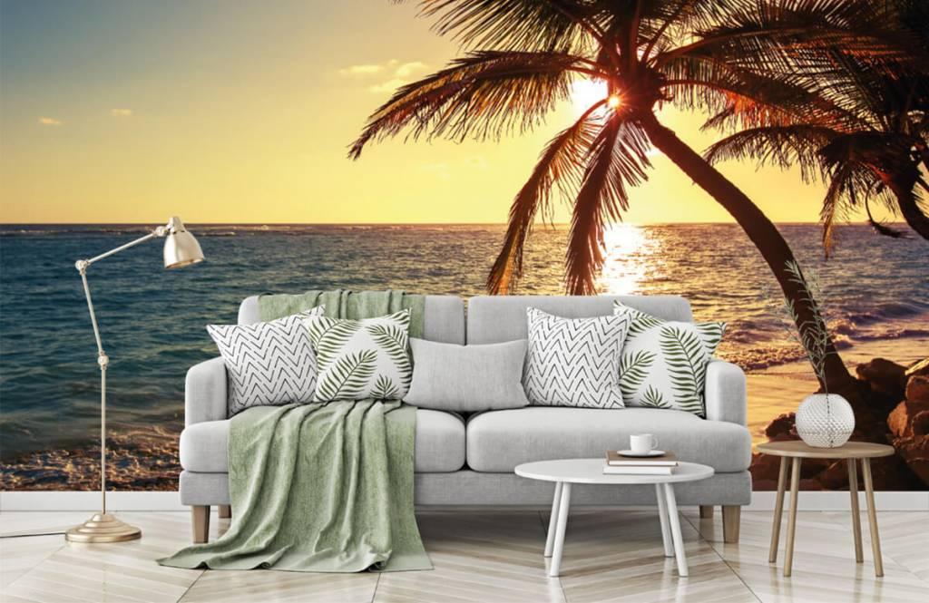 Strand Tapete - Tropischer Strand - Schlafzimmer 7