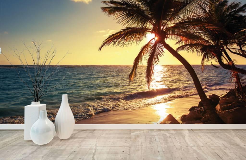 Strand Tapete - Tropischer Strand - Schlafzimmer 8