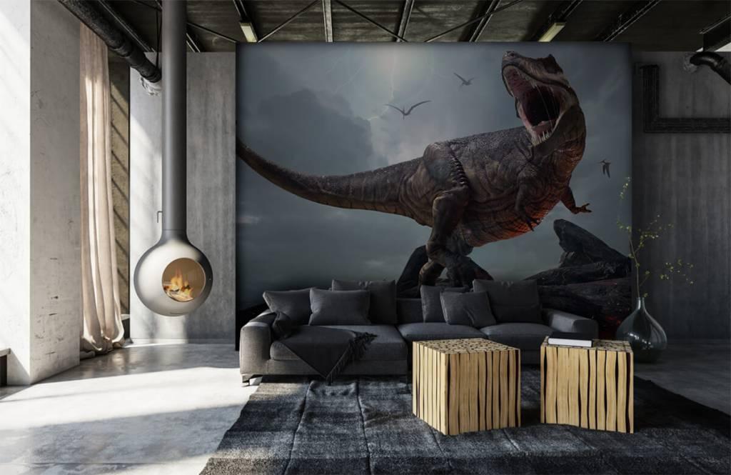 Dinosaurier - Tyrannosaurus Rex - Kinderzimmer 1