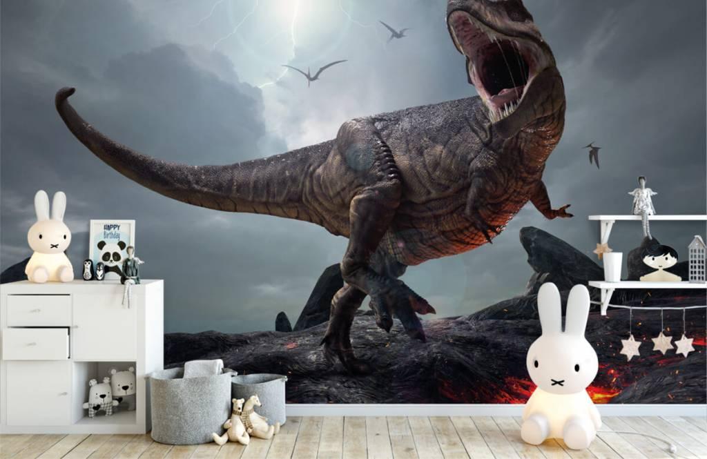 Dinosaurier - Tyrannosaurus Rex - Kinderzimmer 2