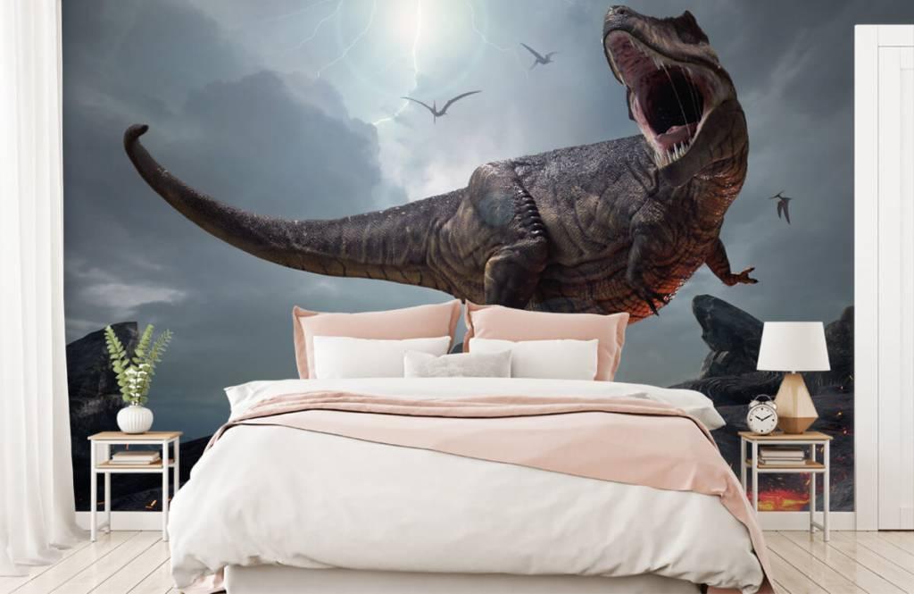 Dinosaurier - Tyrannosaurus Rex - Kinderzimmer 3