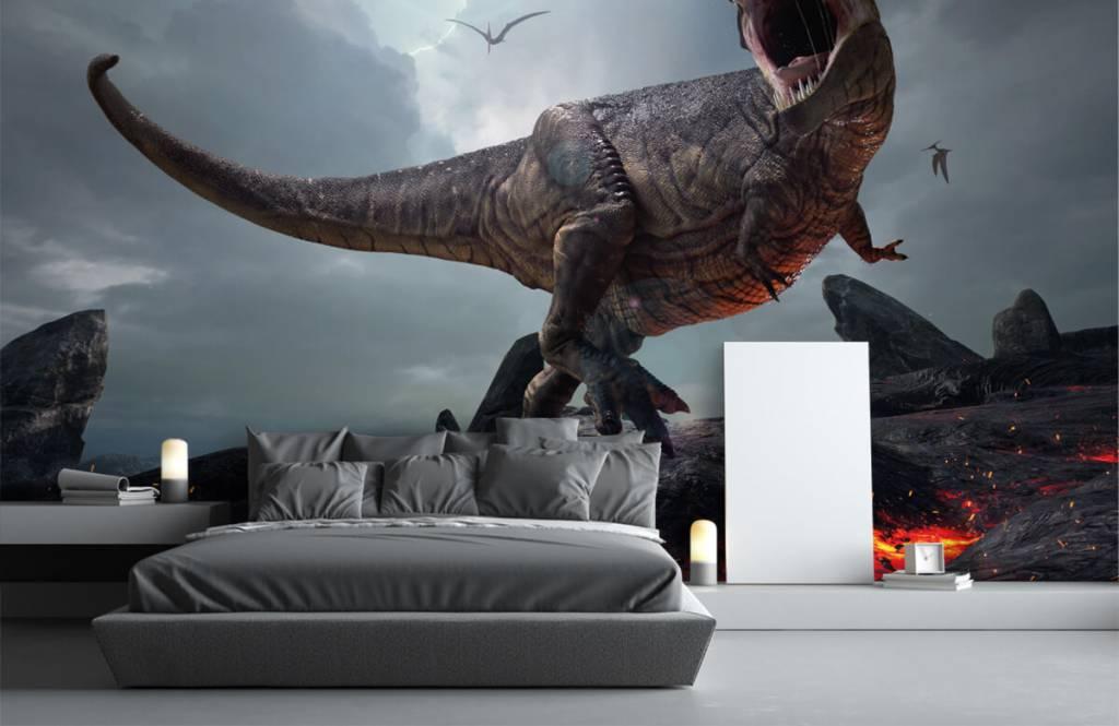 Dinosaurier - Tyrannosaurus Rex - Kinderzimmer 4