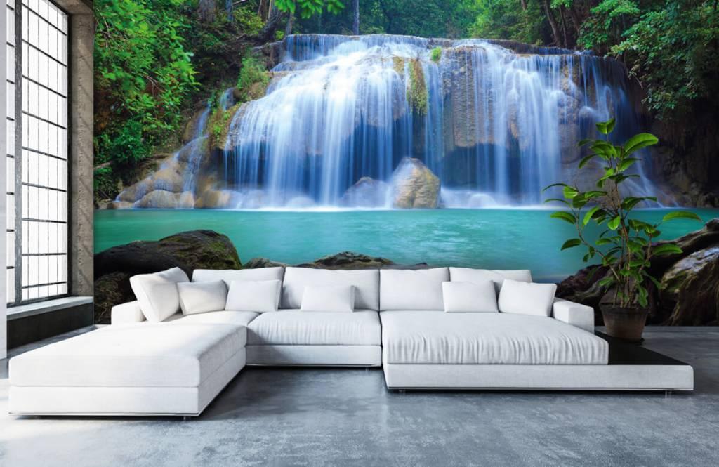 Wasserfälle - Atemberaubender Wasserfall - Schlafzimmer 1