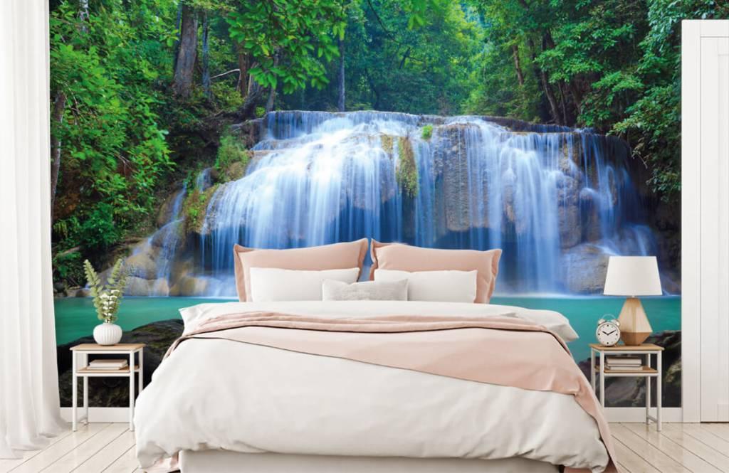 Wasserfälle - Atemberaubender Wasserfall - Schlafzimmer 2