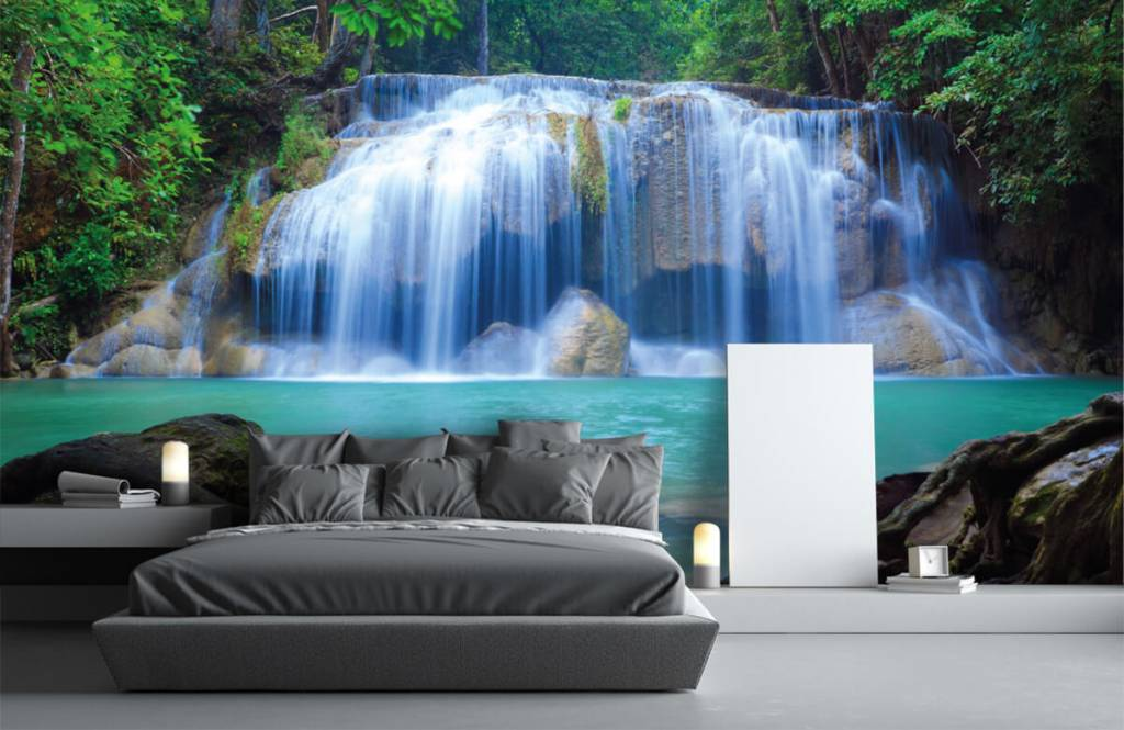 Wasserfälle - Atemberaubender Wasserfall - Schlafzimmer 3