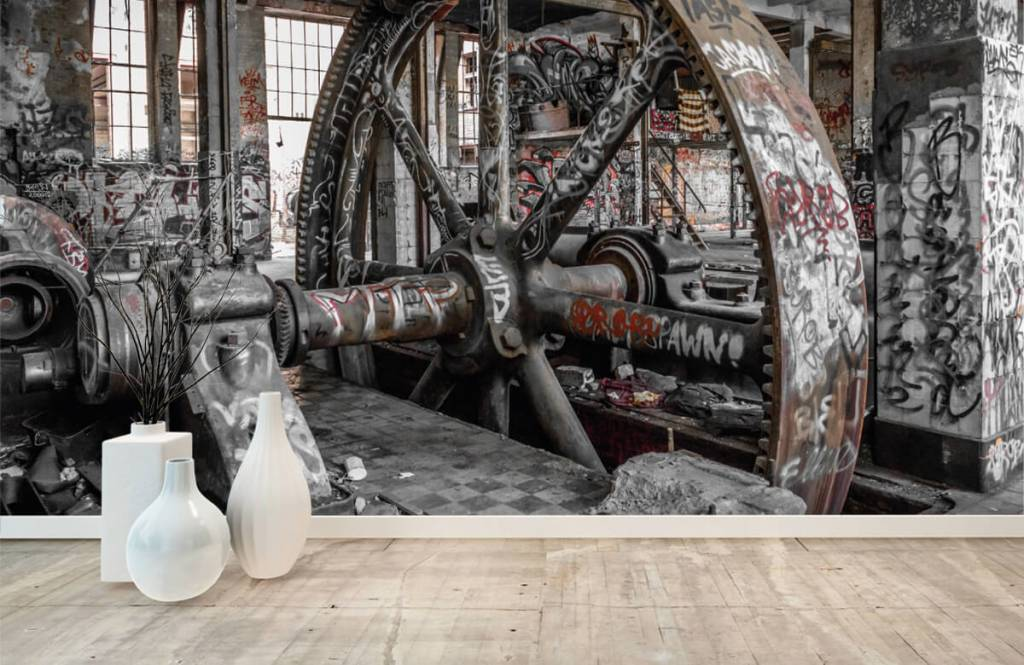 Architektur - Verlassene Fabrik - Jugendzimmer 1