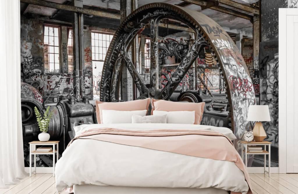 Architektur - Verlassene Fabrik - Jugendzimmer 2