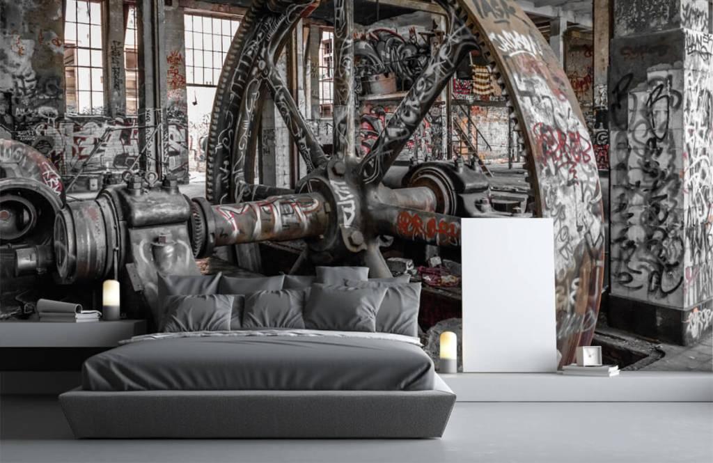 Architektur - Verlassene Fabrik - Jugendzimmer 3