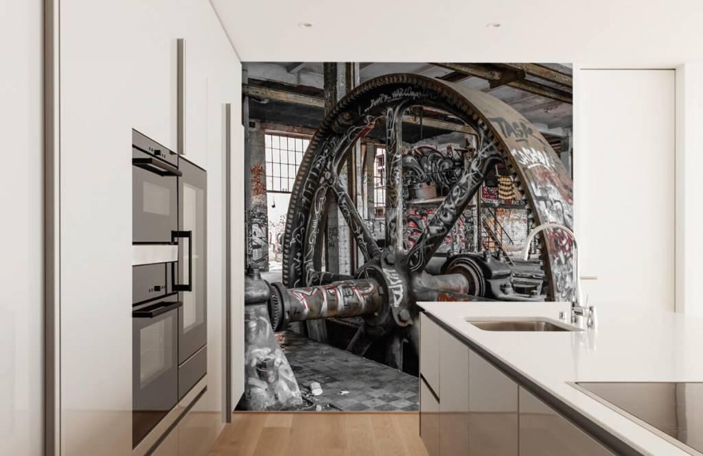 Architektur - Verlassene Fabrik - Jugendzimmer 4
