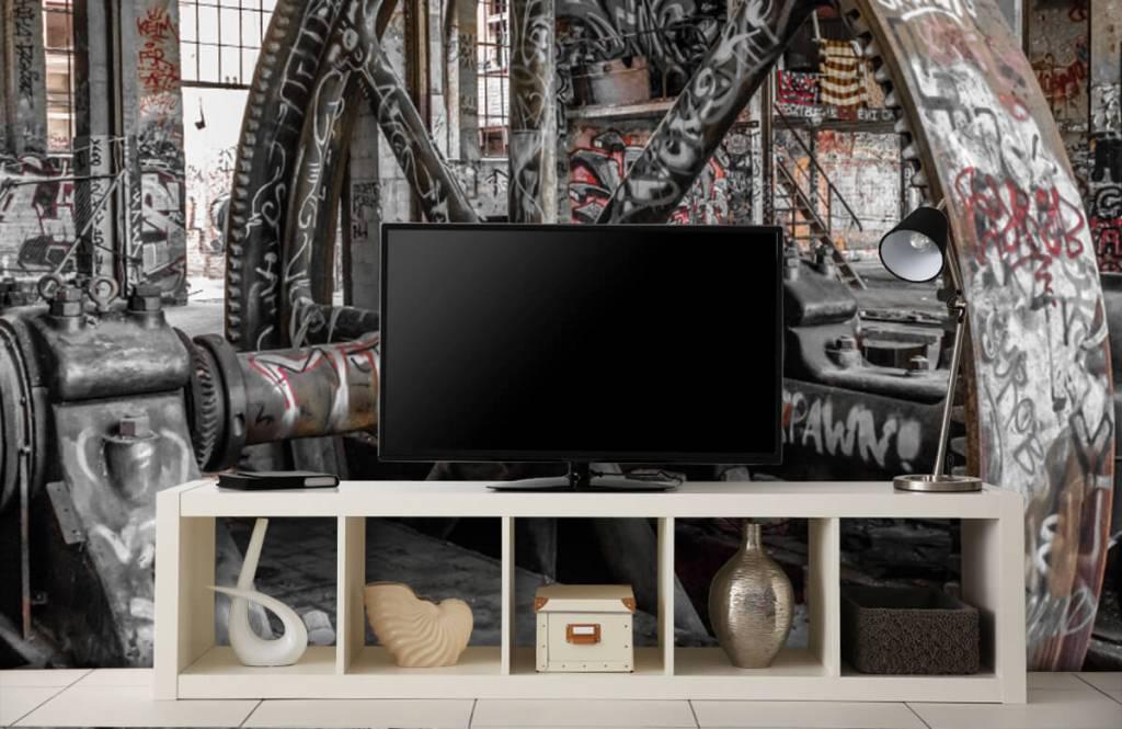 Architektur - Verlassene Fabrik - Jugendzimmer 5