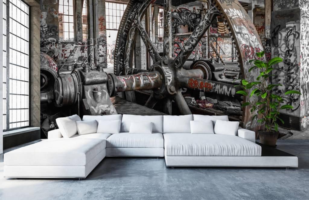 Architektur - Verlassene Fabrik - Jugendzimmer 6